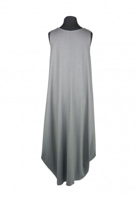 Pinos Kleid Jersey Grau