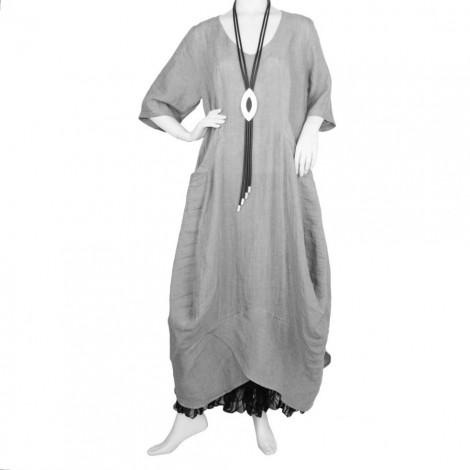 Kleider silber grau