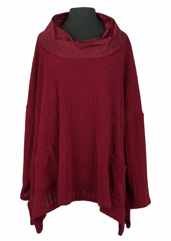 huge selection of ed866 2d6a7 Mistral Pulli Chenille/ Taft weinrot