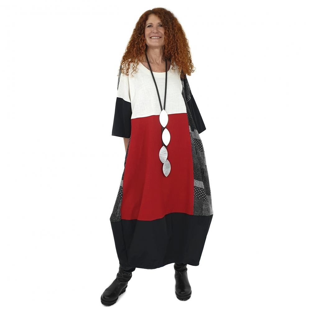 Laurer Kleid in großzügiger...
